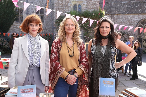 Win a copy of Queens of Mystery series one on DVD
