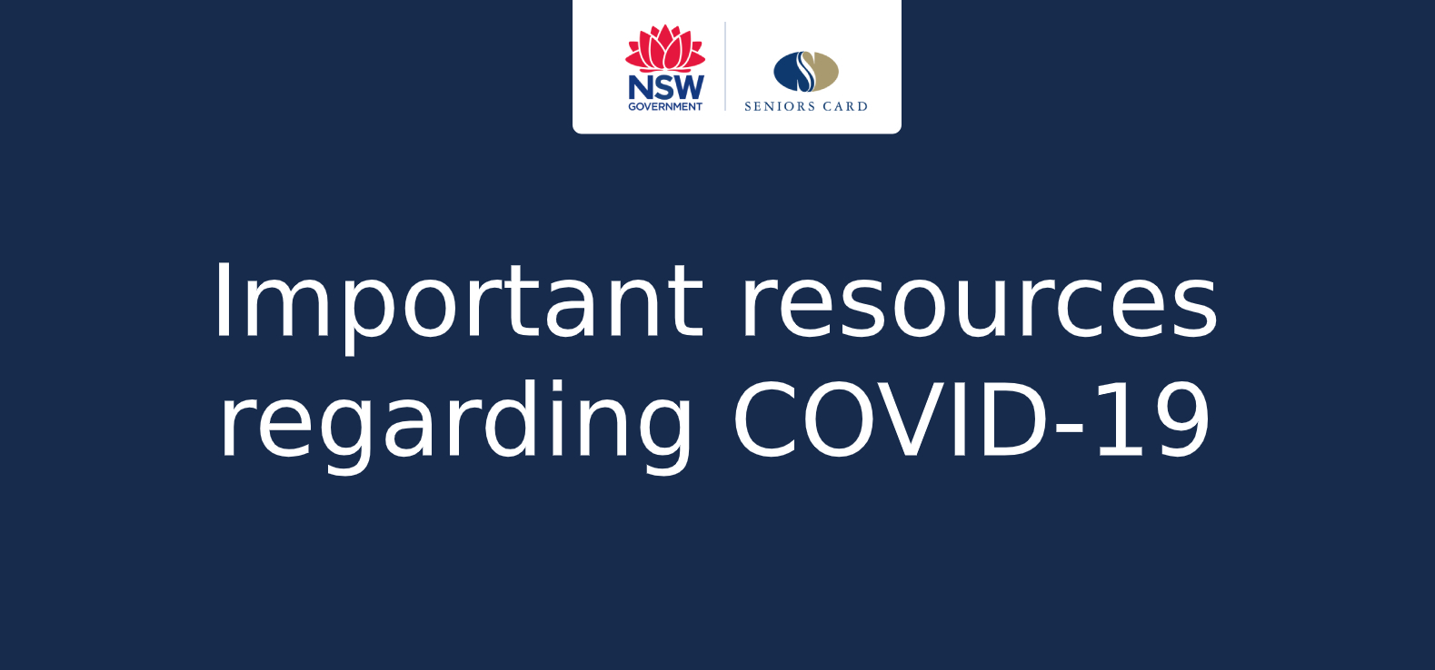 Important resources regarding COVID-19 (Novel Coronavirus)