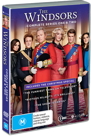 Win a copy of The Windsors complete series 1 & 2 on DVD