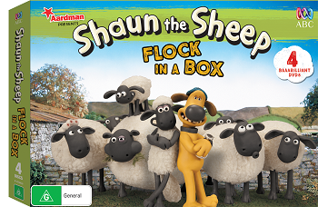 Win a copy of Shaun the Sheep - flock in a box on DVD