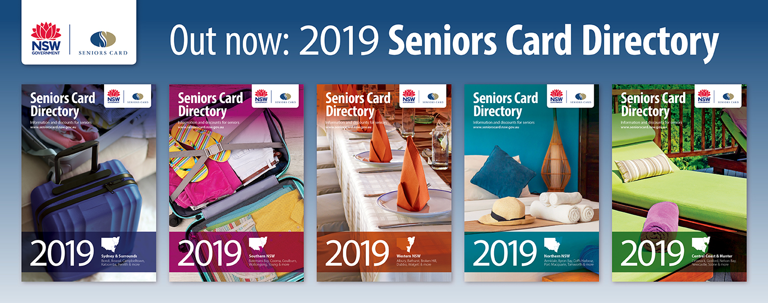 2018 Seniors Card Directory Out Now