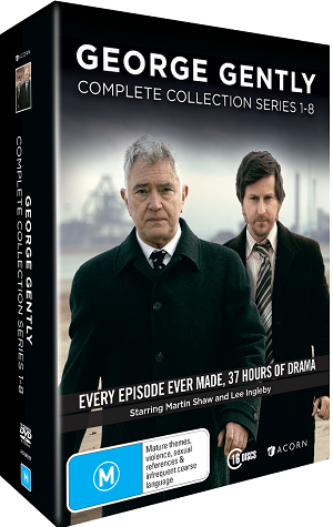 Win a copy of George Gently complete collection series 1-8 on DVD
